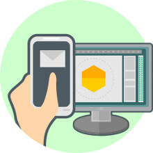 Gmail sur smartphone