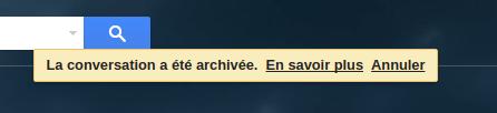 récupérer mail archivé