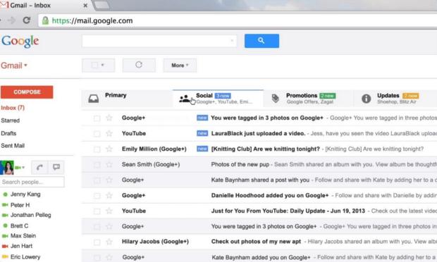 Se connecter à Gmail