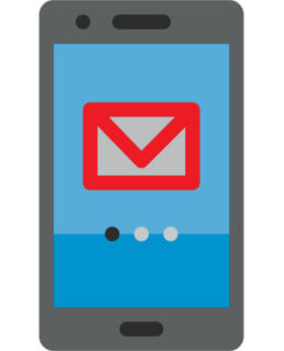 Appli Gmail sur mobile